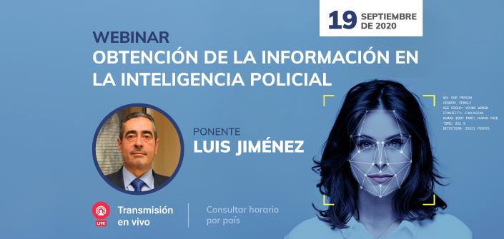UNEATLANTICO organiza, el próximo 19 de septiembre, un webinarsobre la obtención de información en la inteligencia policial