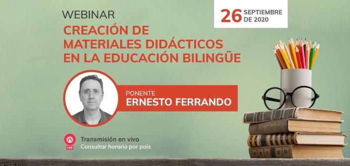 """La Universidad Europea del Atlántico ofrece el webinar """"Creación de materiales didácticos en la educación bilingüe"""""""