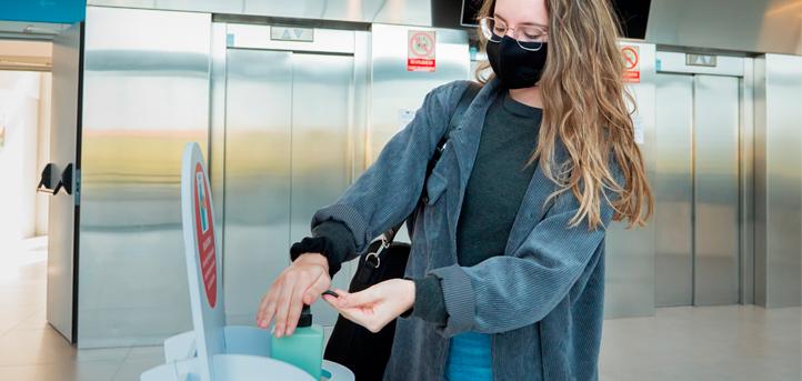 UNEATLANTICO realiza su actividad académica presencial bajo las medidas de seguridad e higiene establecidas por las autoridades sanitarias