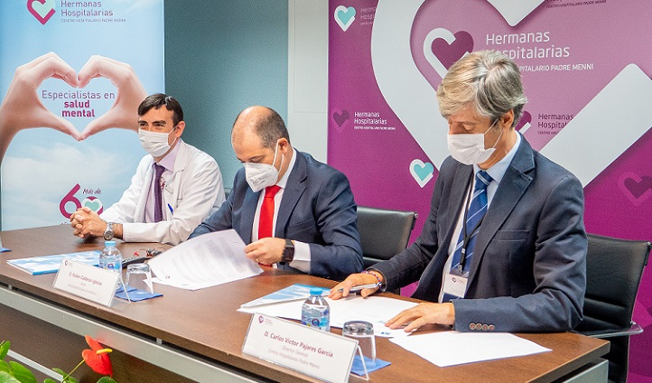UNEATLANTICO y el Centro Hospitalario Padre Menni crean la Cátedra de Psicología Clínica, que dirigirá el doctor David Gil