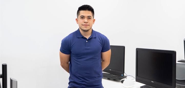 Rodrigo Zaldaña, nos habla sobre el Laboratorio Virtual y su trabajo en el departamento de  sistemas informáticos de UNEATLANTICO