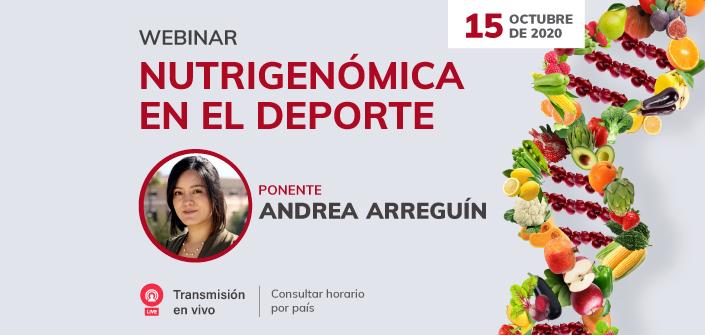 """UNEATLANTICO organiza el próximo 15 de octubre el webinar gratuito """"Nutrigenómica en el Deporte"""""""