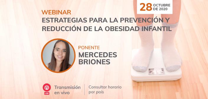 """UNEATLANTICO organiza el 28 de octubre el webinar """"Estrategias para la prevención y reducción de la obesidad infantil"""""""