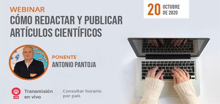 """UNEATLANTICO organiza el 20 de octubre el webinar gratuito """"Cómo redactar y publicar artículos científicos"""""""