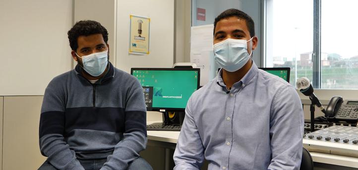 Hablamos con los hermanos Casado, dos estudiantes dominicanos que cursan el grado en Comunicación Audiovisual en UNEATLANTICO