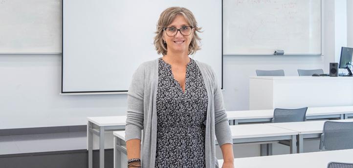 Hablamos con la doctora Nuria Castro, docente del Máster en Formación del Profesorado, sobre sus proyectos y dinámicas de clases