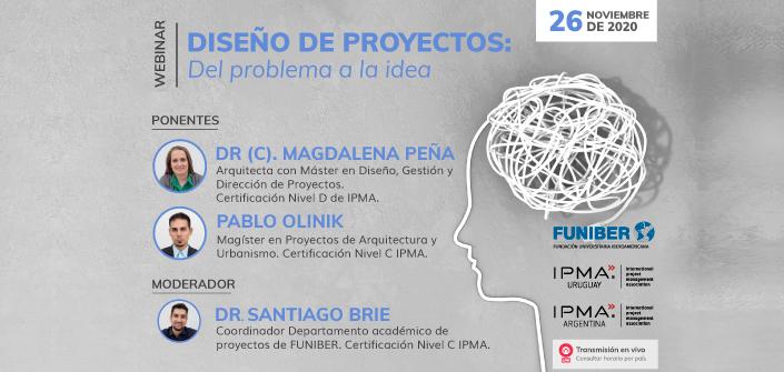 """UNEATLANTICO organiza el webinar """"Diseño de proyectos: Del problema a la idea"""" que se celebrará el 26 de noviembre"""