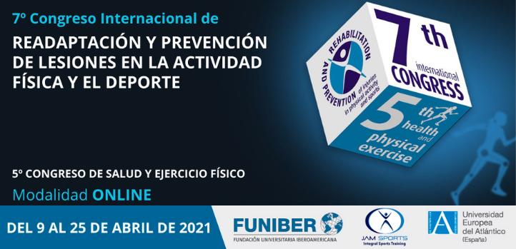 UNEATLANTICO organiza el VII Congreso Internacional de Readaptación y Prevención de Lesiones en la Actividad Física y el Deporte
