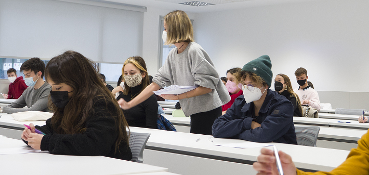 Comienzan hoy en el campus de UNEATLANTICO los exámenes finales correspondientes al primer cuatrimestre del curso 2020-2021