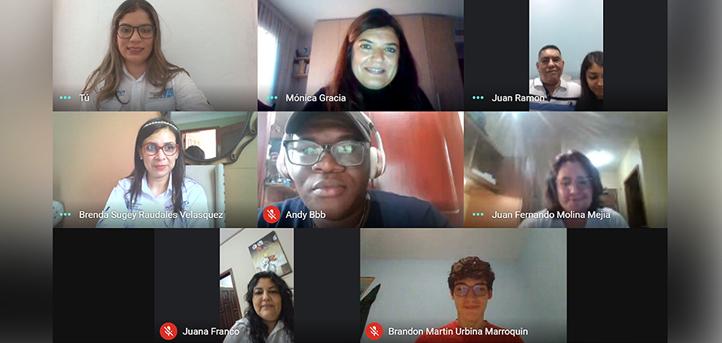 UNEATLANTICO ofreció una bienvenida virtual a los nuevos alumnos hondureños que se incorporan al segundo cuatrimestre