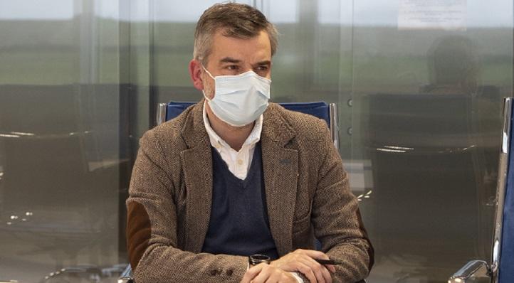 El director general de Innovación del Gobierno de Cantabria, Jorge Muyo, se entrevistó con responsables de UNEATLANTICO y CITICAN