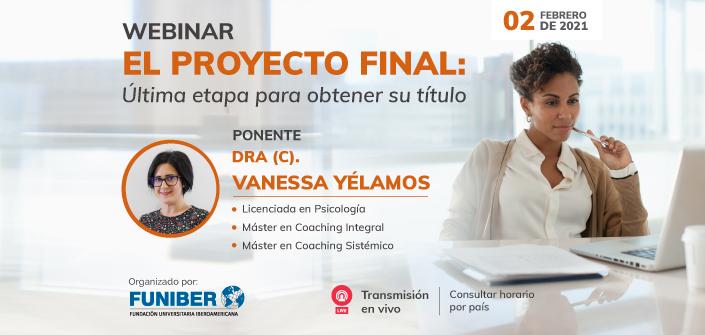 """UNEATLANTICO organiza, el próximo 2 de febrero, el webinar """"El Proyecto Final: última etapa para obtener su título"""""""
