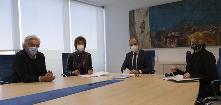 UNEATLANTICO firma un convenio de colaboración con la Fundación Quirón & Higea para impulsar iniciativas comunes