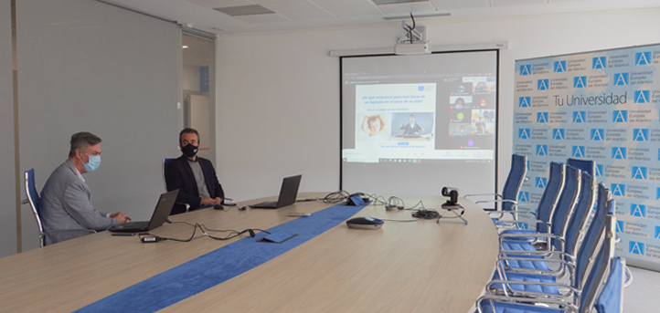 UNEATLANTICO participó en los talleres y la feria de la XII Jornada de Orientación Universitaria del Colegio La Salle de Palencia