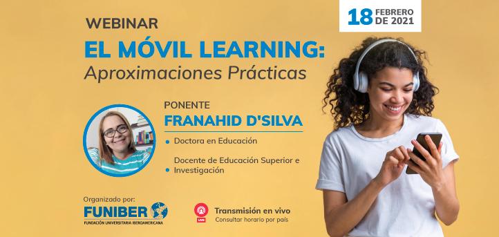 """UNEATLANTICO organiza el próximo 18 de febrero el webinar """"El Mobile Learning: Aproximaciones prácticas"""""""