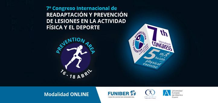Conoce a los ponentes del área Prevention que participaran en  el VII Congreso Internacional de Readaptación y Prevención de Lesiones