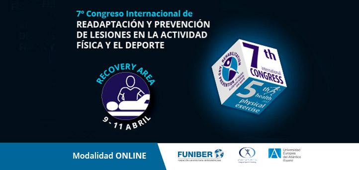 Conoce a los ponentes del área Recovery del VII Congreso Internacional de Readaptación y Prevención de Lesiones