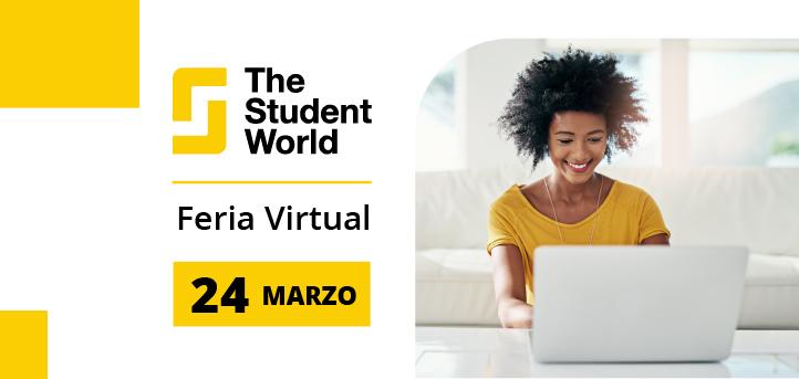 La Universidad Europea del Atlántico participará el próximo 24 de marzo en la feria virtual The Student World Brasil 2021