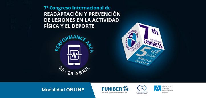 Reputados ponentes participarán en Performance Area del VII Congreso Internacional de Readaptación y Prevención de Lesiones