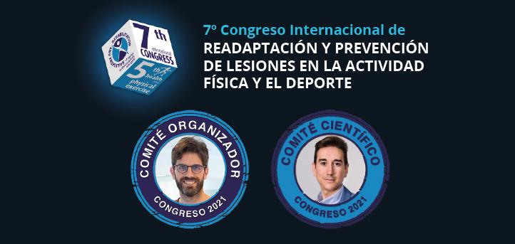 Docentes de UNEATLANTICO forman parte del comité del VII Congreso Internacional de Readaptación y Prevención de Lesiones