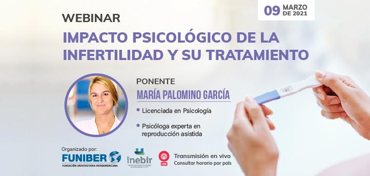 UNEATLANTICO organiza el próximo 9 de marzo el webinar «Impacto psicológico de la Infertilidad y su tratamiento»