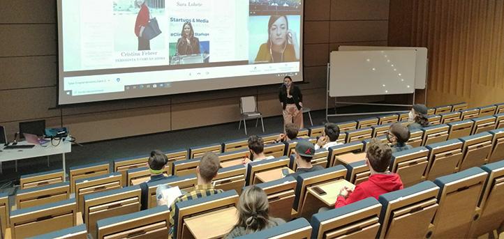 UNEATLANTICO celebra el primer taller de comunicación para los alumnos inscritos en el programa de emprendedores «Hazlo Realidad»
