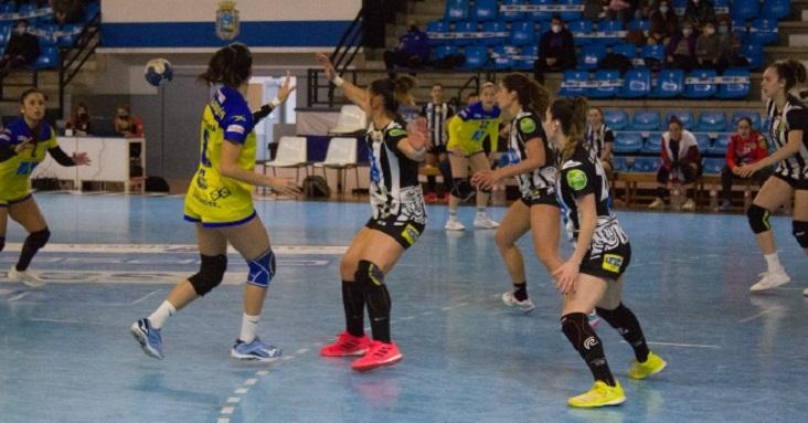 UNEATLANTICO Pereda completa la primera fase de la Liga Guerreras con una ajustada derrota ante el Málaga en La Albericia