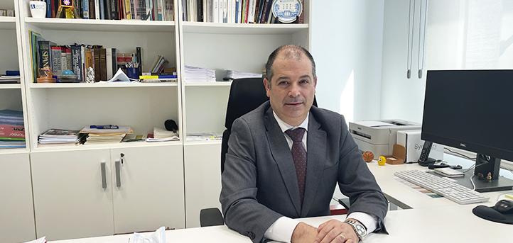 El Colegio San Gregorio reconoce la trayectoria de su antiguo alumno, Rubén Calderón, rector de UNEATLANTICO