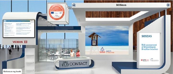 CITICAN completa el proyecto SOSeas de prevención de ahogamientos y lo presenta en la feria Copernicus Marine Service