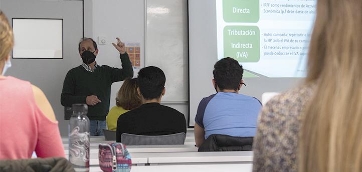 Los alumnos de UNEATLANTICO participan en un taller sobre financiación no tradicional de la mano de Nacho Irastorza