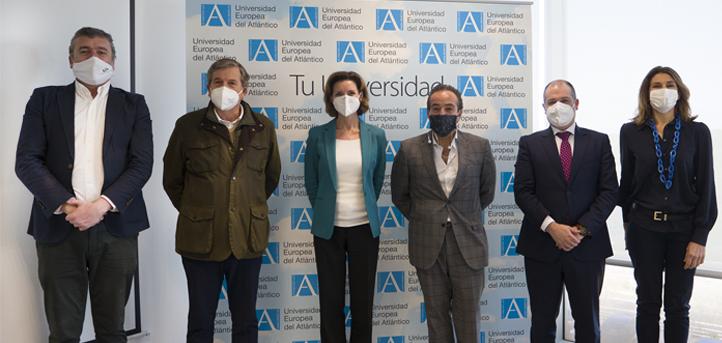 UNEATLANTICO y CEOE-Cepyme Cantabria establecen objetivos comunes en materia de emprendimiento universitario