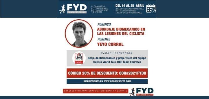 El profesor de UNEATLANTICO, Aurelio Corral, participa en el Congreso FYD 2021 que se celebrará el próximo 25 de abril