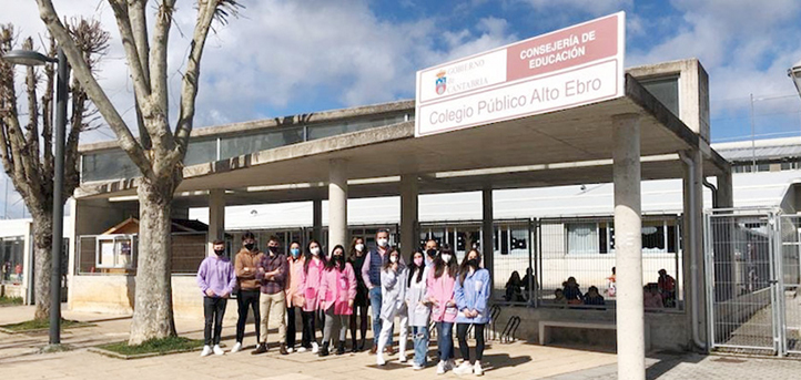 El alumno del grado en Educación Primaria, Mario Martínez, comenta su experiencia realizando prácticas en Colegio Público Alto Ebro