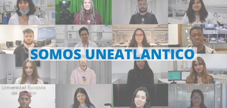 """""""Somos UNEATLANTICO"""", el vídeo que refleja el carácter internacional de la Universidad Europea del Atlántico"""