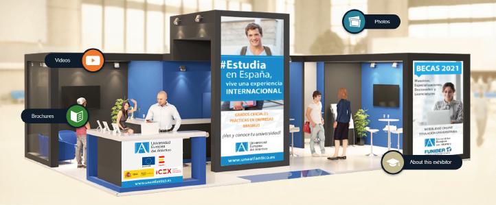 UNEATLANTICO participa en la Feria Virtual de posgrados de The Student World, dedicada a estudiantes de Latinoamérica