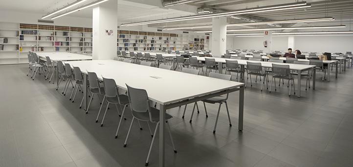 UNEATLANTICO pone a disposición de los alumnos la biblioteca y diferentes aulas de cara a los exámenes finales