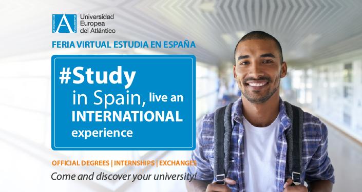 """UNEATLANTICO participa en la I Feria Virtual """"Estudiar en España"""" dirigida a los alumnos de África Subsahariana"""