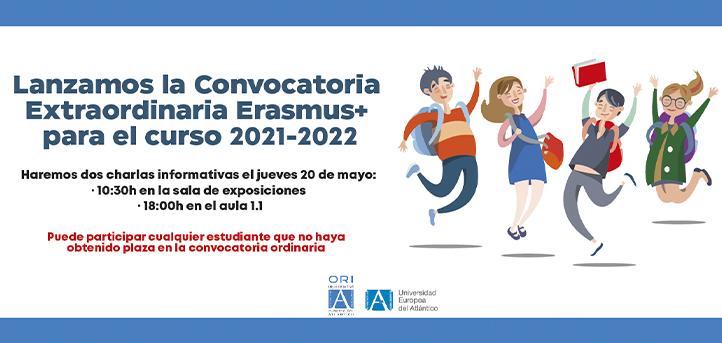 UNEATLANTICO celebra sesiones informativas de la convocatoria extraordinaria Erasmus + para el curso 2021-2022