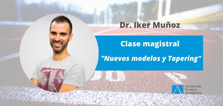 El doctor Iker Muñoz, imparte una clase magistral a los alumnos del grado en Ciencias de la Actividad Física y del Deporte