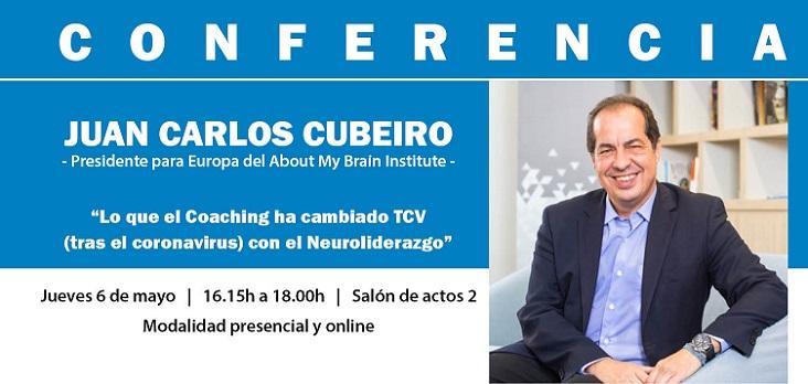El economista y experto en liderazgo, Juan Carlos Cubeiro, ofrecerá una conferencia el jueves sobre el coaching tras el covid