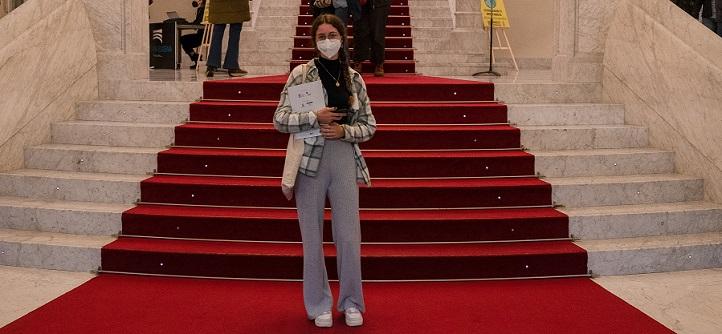 Una alumna de Comunicación participó como Jurado Joven en el XVIII Festival de Cine y Derechos Humanos de San Sebastián