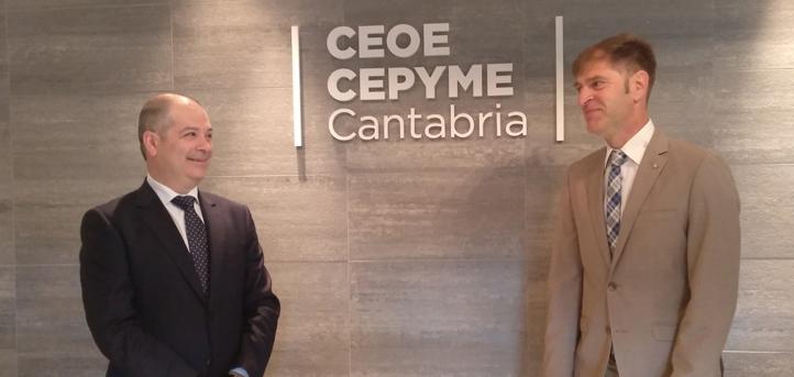 UNEATLANTICO y CEOE CEPYME CANTABRIA firman un convenio de colaboración en materia de emprendimiento e innovación