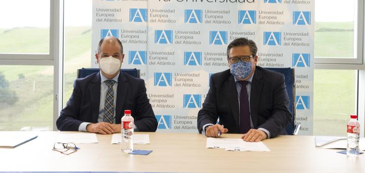 UNEATLANTICO y Norcantabric firman un convenio de colaboración para llevar a cabo iniciativas  comunes