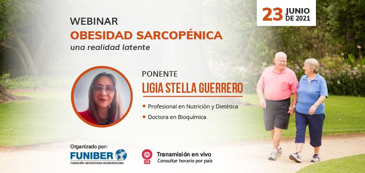 UNEATLANTICO organiza el webinar  «Obesidad Sarcopénica, una realidad latente» el próximo 23 de junio