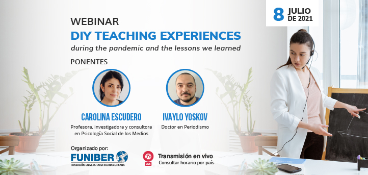 UNEATLANTICO organiza el webinar «DIY teaching experiences during the pandemic and the lessons we learned»