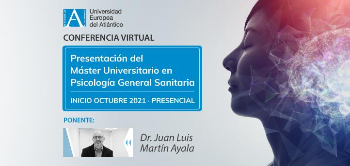 El 2 de junio tendrá lugar la presentación virtual del Máster Universitario en Psicología General Sanitaria de UNEATLANTICO