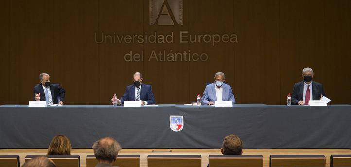 """La Universidad Europea del Atlántico funda el Instituto de Estudios Europeos """"Eduardo García de Enterría"""""""