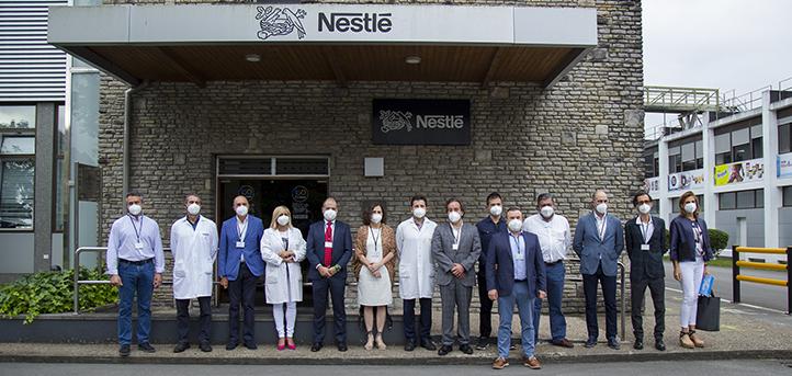 La Universidad Europea del Atlántico y NESTLÉ lideran un programa piloto de formación único en Cantabria con empresas del sector lácteo
