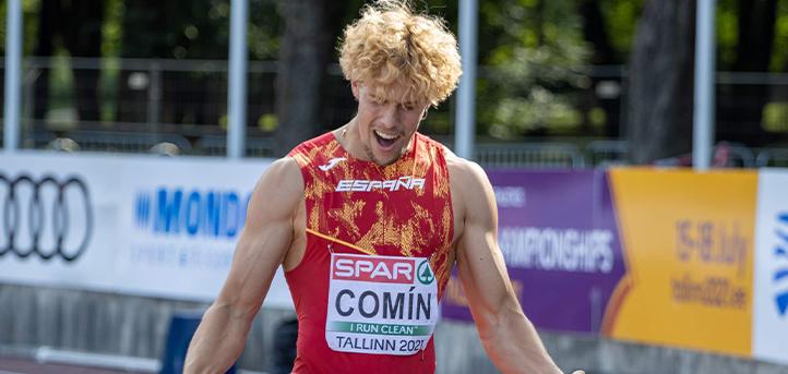 El alumno Bruno Comín, se proclama décimo en el Campeonato Europeo Sub 23 y bate récord de Cantabria absoluto de decatlón