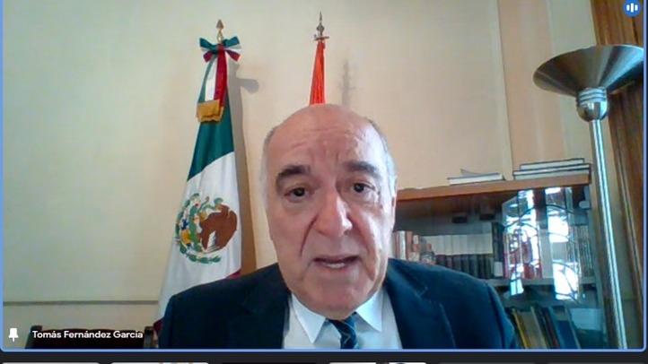 El Consejero de Educación de la Embajada Española en México presidió el acto de despedida de los alumnos de nuevo ingreso